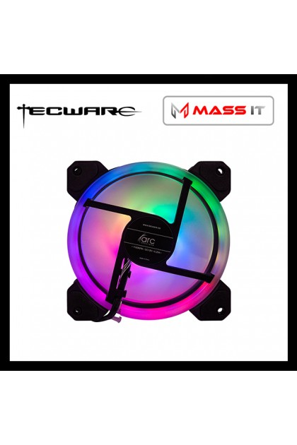 TECWARE ARC SPECTRUM F3 ARGB Dual Fan (2 Fan Duo Pack)