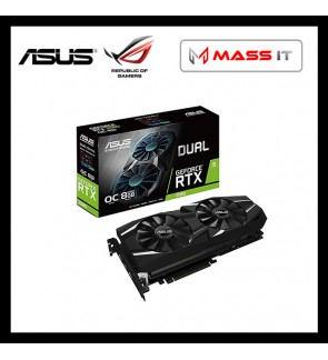 ASUS Dual GeForce RTX 2080 OC Edition 8GB GDDR6 Graphic Card (DUAL-RTX2080-O8G)