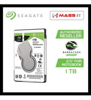 "SEAGATE 1TB Barracuda 2.5"" Notebook Internal Hard Disk SATA 5400RPM (ST1000LM048)"