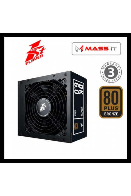 1ST PLAYER DK 6 DK6 DK PS-600AX 600W 80+ BRONZE Full Modular Power Supply