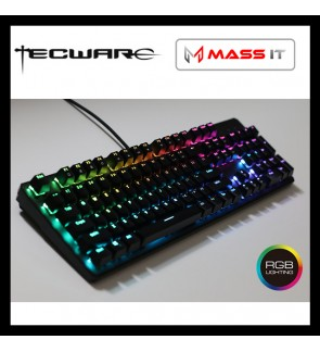 TECWARE Phantom Full RGB Blue Switch Mechanical Gaming Keyboard