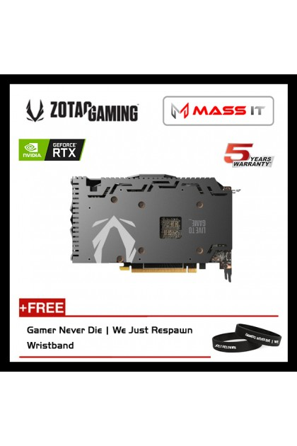 ZOTAC GeForce RTX 2060 AMP 6GB GDDR6 192Bit Graphic Card (ZT-T20600D-10M)