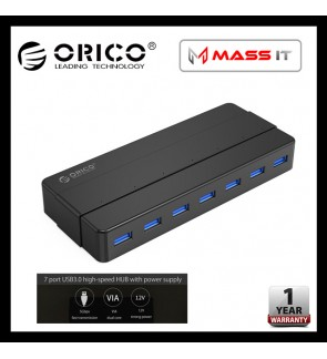 ORICO H7928-U3 7-Port USB3.0 Hub with 12V2A Power Adapter