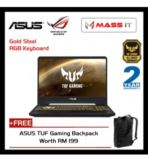 "ASUS FX705G-MEV262T TUF Gaming (i7-8750H/GTX1060 6GD5/8GB D4 2666MHz/512GB PCIe NVMe M.2 SSD/17.3"" 144hz IPS FHD/WIN10/2 Years Warranty)"