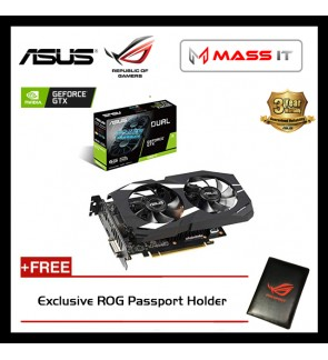 ASUS DUAL GeForce GTX 1660 Ti 6GB GDDR6 Graphic Card (DUAL-GTX1660TI-6G)