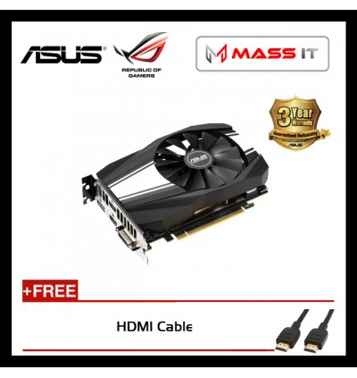 ASUS Phoenix GeForce GTX 1660 Ti 6GB GDDR6 Graphic Card (PH-GTX1660TI-6G)