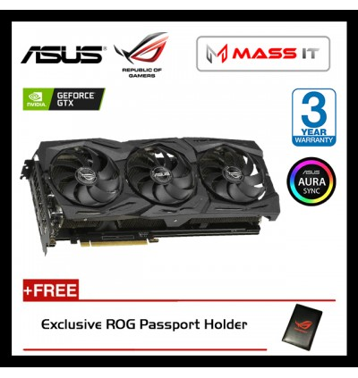 ASUS ROG Strix GeForce GTX 1660TI OC Edition 6GB GDDR6 Graphic Card (ROG-STRIX-GTX1660TI-O6G-GAMING)