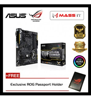 ASUS TUF X470-PLUS GAMING AM4 Gaming Motherboard