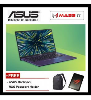 "ASUS A512F-LBQ177T VivoBook Peacock Blue (i5-8265U/MX250 2GD5/4GB D4/512GB PCIe NVMe M.2 SSD/15.6"" FHD/WIN10/2 Years Warranty)"