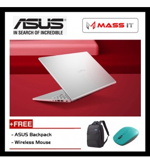 "ASUS Vivobook A509F-BBR047T Transparent Silver (i3-8145U/MX110 2GD5/4GB DDR4/1TB HDD/15.3"" FHD/WIN10/2 Years Warranty)"