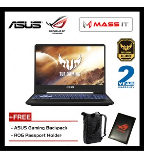 "ASUS FX505D-UAL114T TUF Gaming (Ryzen 7-3750H/GTX1660Ti 6GD5/8GB D4 2666MHz/512GB PCIe NVMe M.2 SSD/15.6"" IPS 120hz FHD/WIN10/2 Years Warranty)"