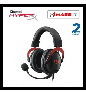 Kingston HyperX Cloud II Red Gaming Headset Cloud 2 (KHX-HSCP-RD)