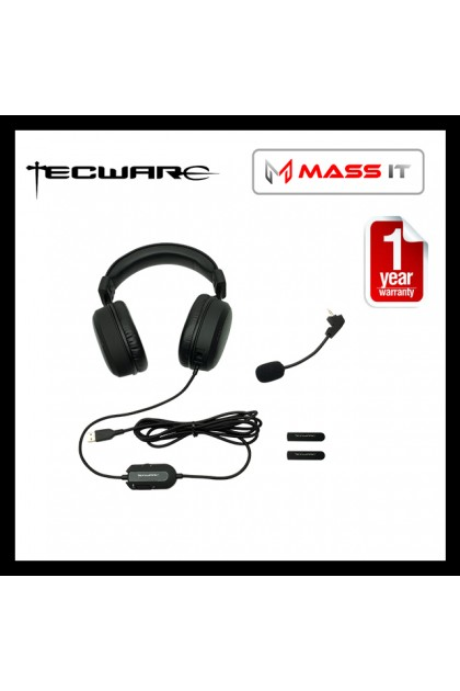 TECWARE Q5 HD 7.1 Surround + Wide band Mic Premium Gaming Headset