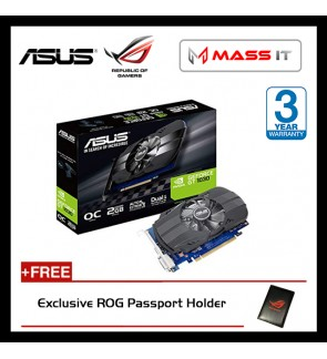 ASUS PHOENIX GeForce GT 1030 2GB GDDR5 Graphic Card (PH-GT1030-2G)