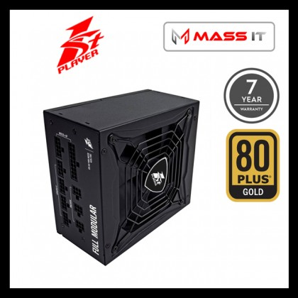 1ST PLAYER SteamPunk 650W 650Watt PS-650SP 80+ GOLD Full Modular Power Supply