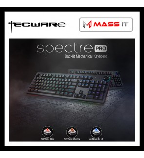 TECWARE Spectre PRO Blue Switch RGB Mechanical Gaming Keyboard