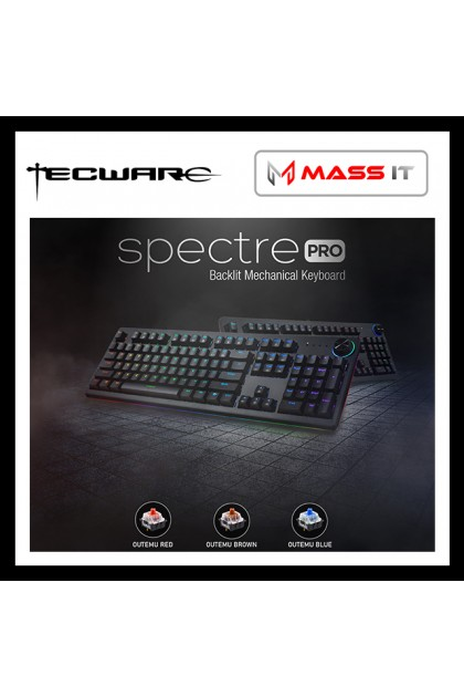 TECWARE Spectre PRO Brown Switch RGB Mechanical Gaming Keyboard