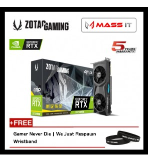 ZOTAC GeForce RTX 2070 SUPER AMP 8GB GDDR6 Graphic Card (ZT-T20710D-10P)