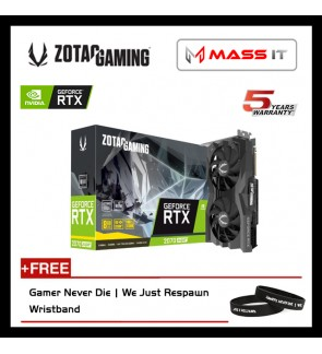 ZOTAC GeForce RTX 2070 SUPER AIR 8GB GDDR6 Graphic Card (ZT-T20710E-10M)