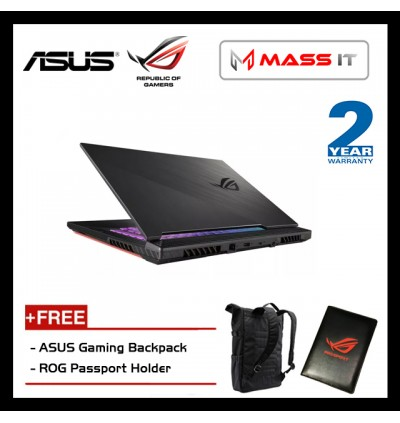 "ASUS G731G-TH7113T ROG Strix G (i7-9750H/GTX1650 4GD5/8GB D4 2666MHz/512GB PCIe NVMe M.2 SSD/17.3"" 120Hz IPS FHD/WIN10/2 Years Warranty)"