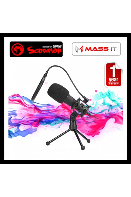 MARVO Scorpion Desktop USB Microphone MIC-03