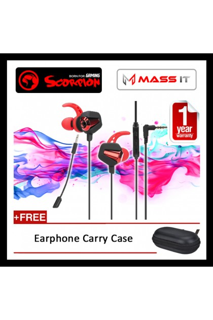 MARVO Scorpion Stereo Gaming Earbuds GP-002