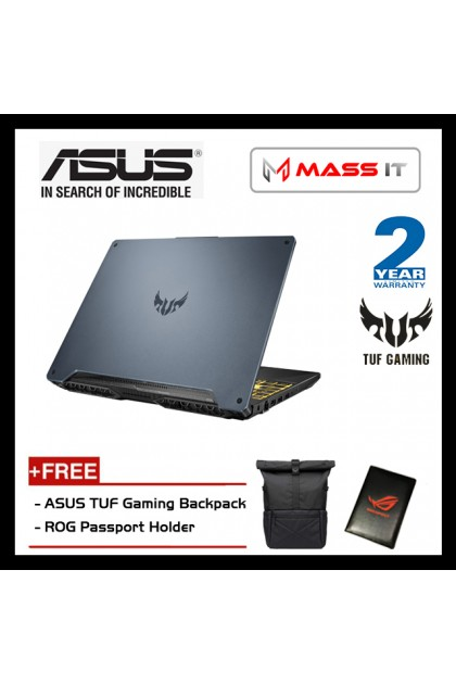 "ASUS FA506I-IHN240T TUF Gaming (Ryzen 5-4600H/GTX1650Ti 4GD6/8GB D4 3200MHz/512GB NVMe M.2 SSD/15.6"" 144hz IPS FHD/WIN10/2 Years Warranty)"