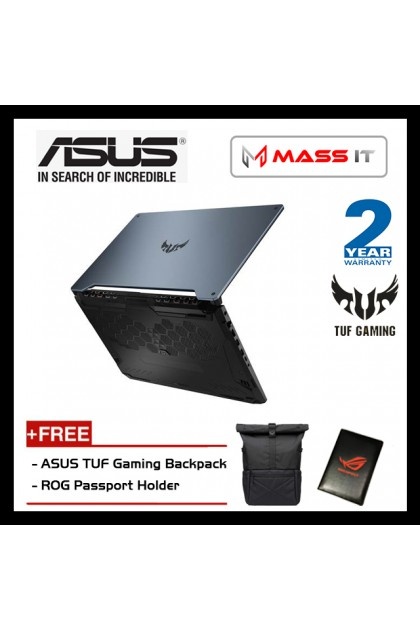 """ASUS FA506IV-5599 TUF Gaming (Ryzen 7-4800H/RTX2060 6GD6/16GB D4 2666MHz/512GB NVMe M.2 SSD/15.6"""" IPS 144hz FHD/WIN10/2 Years Warranty)"""