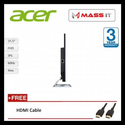 "ACER EB321HQA 31.5"" IPS FHD Gaming Monitor"