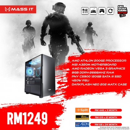 RM1249 Gaming PC / Workstation (APRIL Promo)